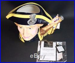 Royal Doulton Character Jug LORD HORATIO NELSON Large D7236 2004 Jug