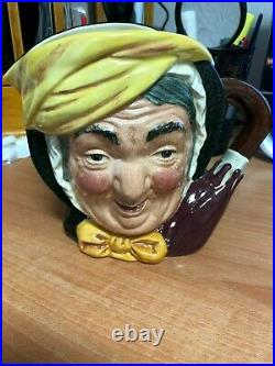 Royal Doulton Character Jug Large (CJL) Sairey Gamp Colorway D6770 #/250