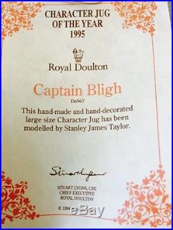 Royal Doulton Character Jug Large Captain Bligh D6967