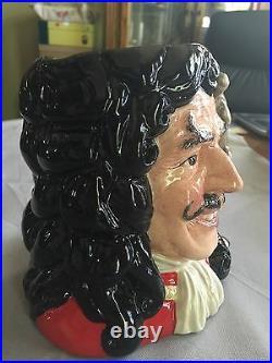 Royal Doulton Character Jug Large Captain Hook D6947