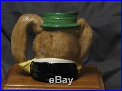 Royal Doulton Character Jug Large D6776 THE MARCH HARE 1988