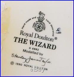 Royal Doulton Character Jug Large D6862 THE WIZARD 1990