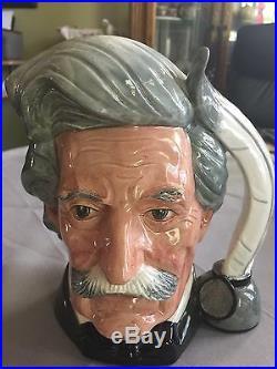Royal Doulton Character Jug Large Mark Twain D6654