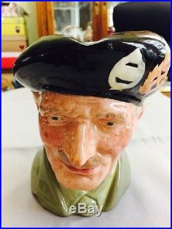 Royal Doulton Character Jug Large Monty D6202