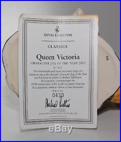 Royal Doulton Character Jug, Large, Queen Victoria, D7152