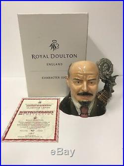 Royal Doulton Character Jug Large Vladimir Lenin ed 100 no 90