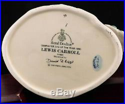 Royal Doulton Character Jug Lewis Carroll D7096