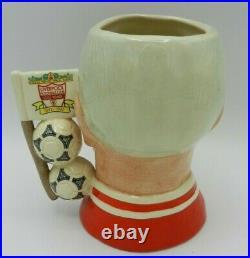 Royal Doulton Character Jug Liverpool FC Centenary BILL SHANKLY D6914