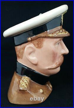 Royal Doulton Character Jug Lord Kitchener D7148 Large FB0088