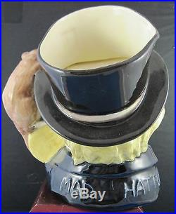 Royal Doulton Character Jug Mad Hatter Var. 1