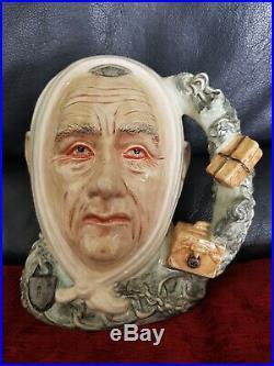 Royal Doulton Character Jug Marley's Ghost