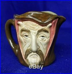 Royal Doulton Character Jug Mephistopheles D5757 Small with Verse