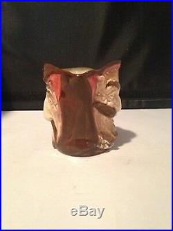 Royal Doulton Character Jug Mephistopheles D5758 WithVerse Small RARE Excellent Co