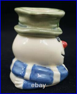 Royal Doulton Character Jug Mini Christmas Cracker Snowman D7158 JB0061