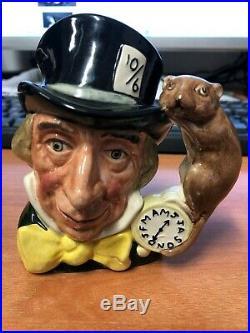 Royal Doulton Character Jug Miniature (CJM) Mad Hatter D6790 #184/500