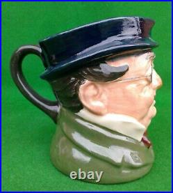 Royal Doulton Character Jug Mr. Pickwick (style One) Trial Piece D5839