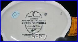Royal Doulton Character Jug Mug Toby Queen Victoria D7152 Limited Edition #224