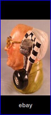 Royal Doulton Character Jug Murray Walker Number 1 of Ltd edition of 2500