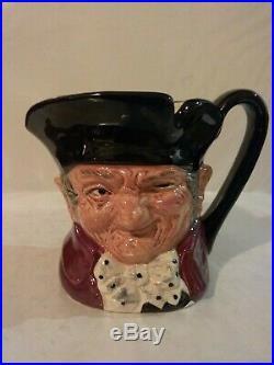 Royal Doulton Character Jug Old Charley Higbee D6791 Small 3.75 1987 Ltd 500