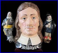 Royal Doulton Character Jug Oliver Cromwell D6968