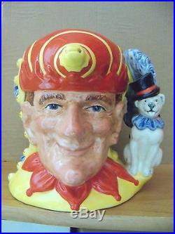 Royal Doulton Character Jug PUNCH & JUDY 2-SIDE Large D6946 1994 ONLY RDICC