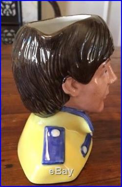 Royal Doulton Character Jug Paul Mccartney D6724 5.5 1984-91