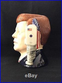 Royal Doulton Character Jug- President John F. Kennedy #277/1000 Certificate