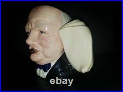 Royal Doulton Character Jug Prototype / Trial Winston Churchill