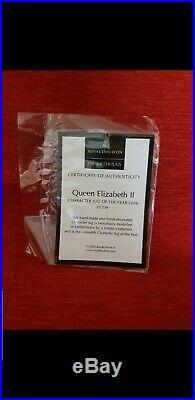 Royal Doulton Character Jug Queen Elizabeth ll Boxed D7256