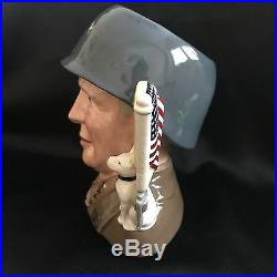 Royal Doulton Character Jug-RARE- General Patton