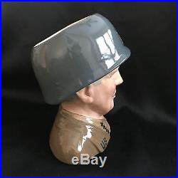 Royal Doulton Character Jug-RARE- General Patton D7026-Great Generals Collection