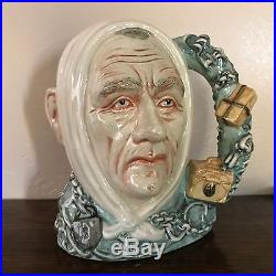 Royal Doulton Character Jug-RARE- Marley's Ghost #572/2500 with Certificate