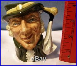 Royal Doulton Character Jug REGENCY BEAU SMALL Size w 4 lines of nbrs