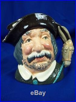 Royal Doulton Character Jug Sancho Panca D6456 #2