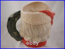 Royal Doulton Character Jug Santa Claus England D6794 Large Limited Edition