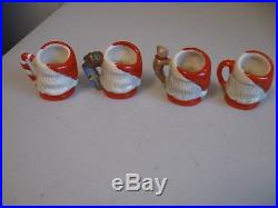 Royal Doulton Character Jug Santa Claus, Tiny Set (a)