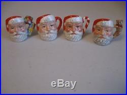 Royal Doulton Character Jug Santa Claus, Tiny Set (c)