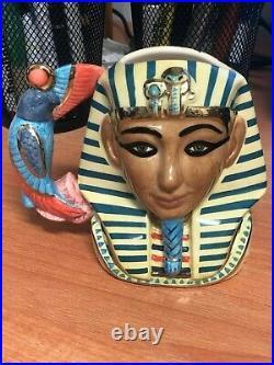 Royal Doulton Character Jug Small (CJS) Tutankhamen D7127 #'d 0373 / 1500