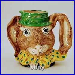Royal Doulton Character Jug THE MARCH HARE D6776 Large 6 Mug Toby. Pre-owned