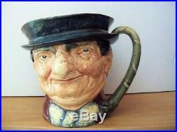 Royal Doulton Character Jug TONY WELLER MUSICAL D5888