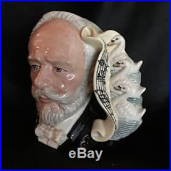 Royal Doulton Character Jug-Tchaikovsky/Great Composer Series/Classical Music