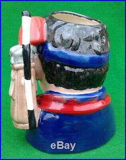 Royal Doulton Character Jug The Golfer Prototype Colourway D7064