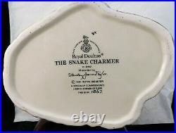 Royal Doulton Character Jug The Snake Charmer D6912