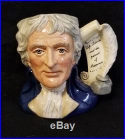 Royal Doulton Character Jug Thomas Jefferson, Large D 6943