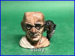 Royal Doulton Character Jug Tiny Ghandi Prototype Museum sale