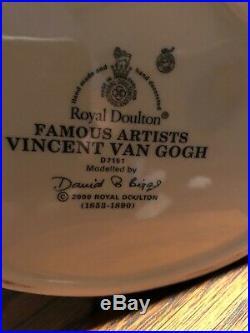 Royal Doulton Character Jug Van Gogh D7151