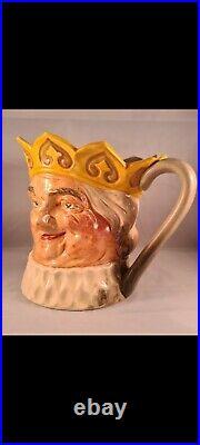 Royal Doulton Character Jug Very Rare Yellow Crown O. K. C. Large D6036