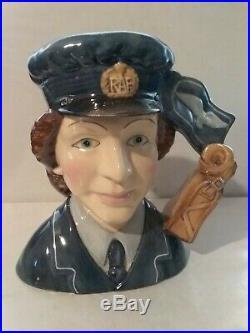 Royal Doulton Character Jug Women's Aux. Air Force D7212 MID 5.5 2004 Ltd 250