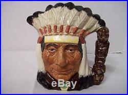 Royal Doulton Character JugNorth American IndianD6611