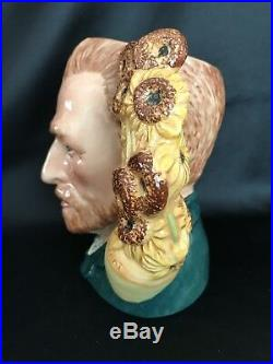 Royal Doulton Character JugVINCENT VAN GOGHFAMOUS ARTISTS SERIES # D7151